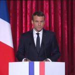 """Macron à l'Elysée :""""Pour être l'homme de son pays, il faut être l'homme de son temps""""."""